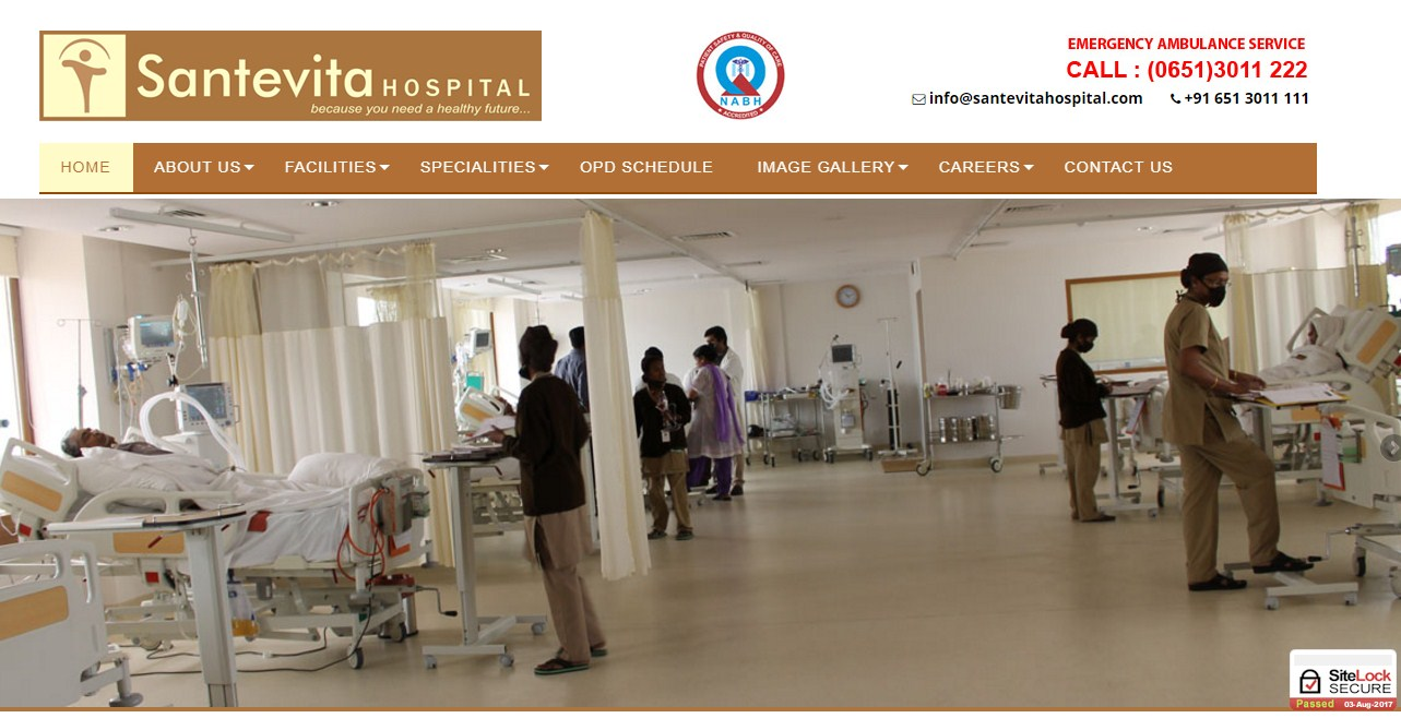 Welcome to Santevita Hospital Official Site